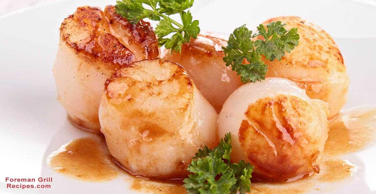 Grilled Sea Scallops with Saffron Rice Recipe
