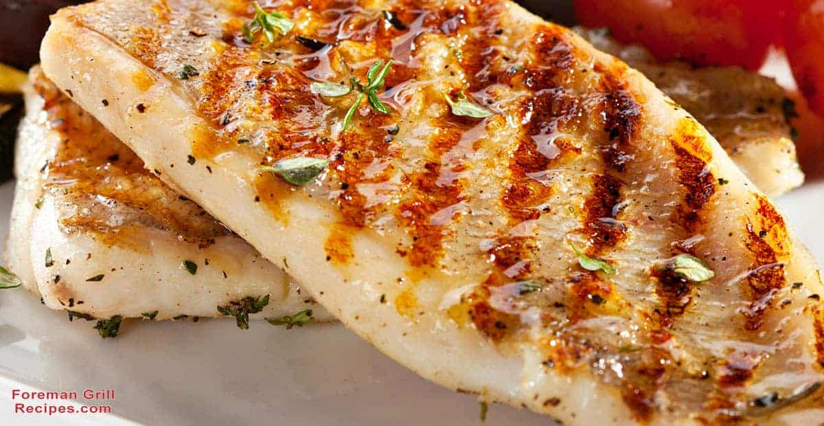Easy Tasty Grilled Trout On A Foreman Grill Recipe