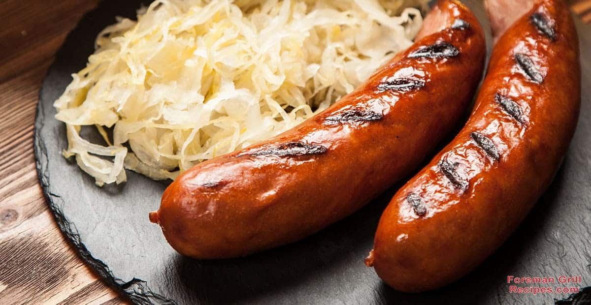 Beer Braised & Grilled Bratwurst Recipe