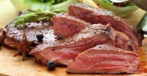 Foreman Grill Venison Steaks