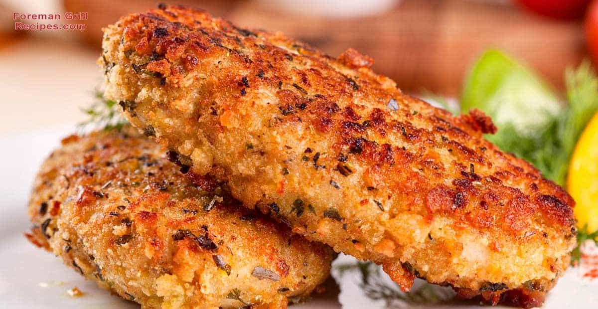 Grilled Bonefish Patties Recipe
