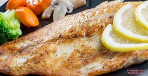 Foreman grill seasoned grouper