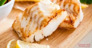Easy grilled walleye fillets