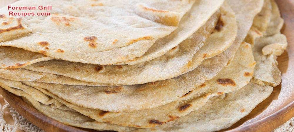 Grilled Chapatis